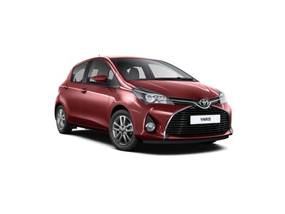 Toyota Yaris A- Extra driver included 2017 - 2018