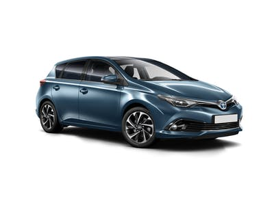 Toyota Auris M- Extra driver included 2017 - 2018