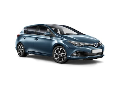 Toyota Auris A- Extra driver included 2017 - 2018