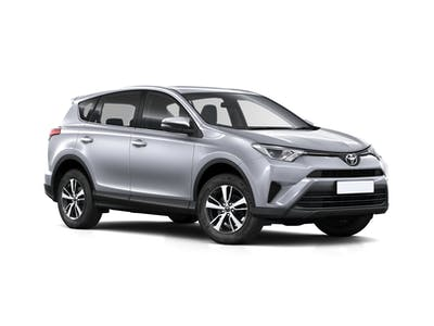 Toyota RAV4 4X4 M- Extra driver included - 2017