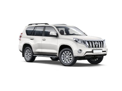 Toyota  LandCruiser 150 4X4 Extra driver included 2017 - 2018