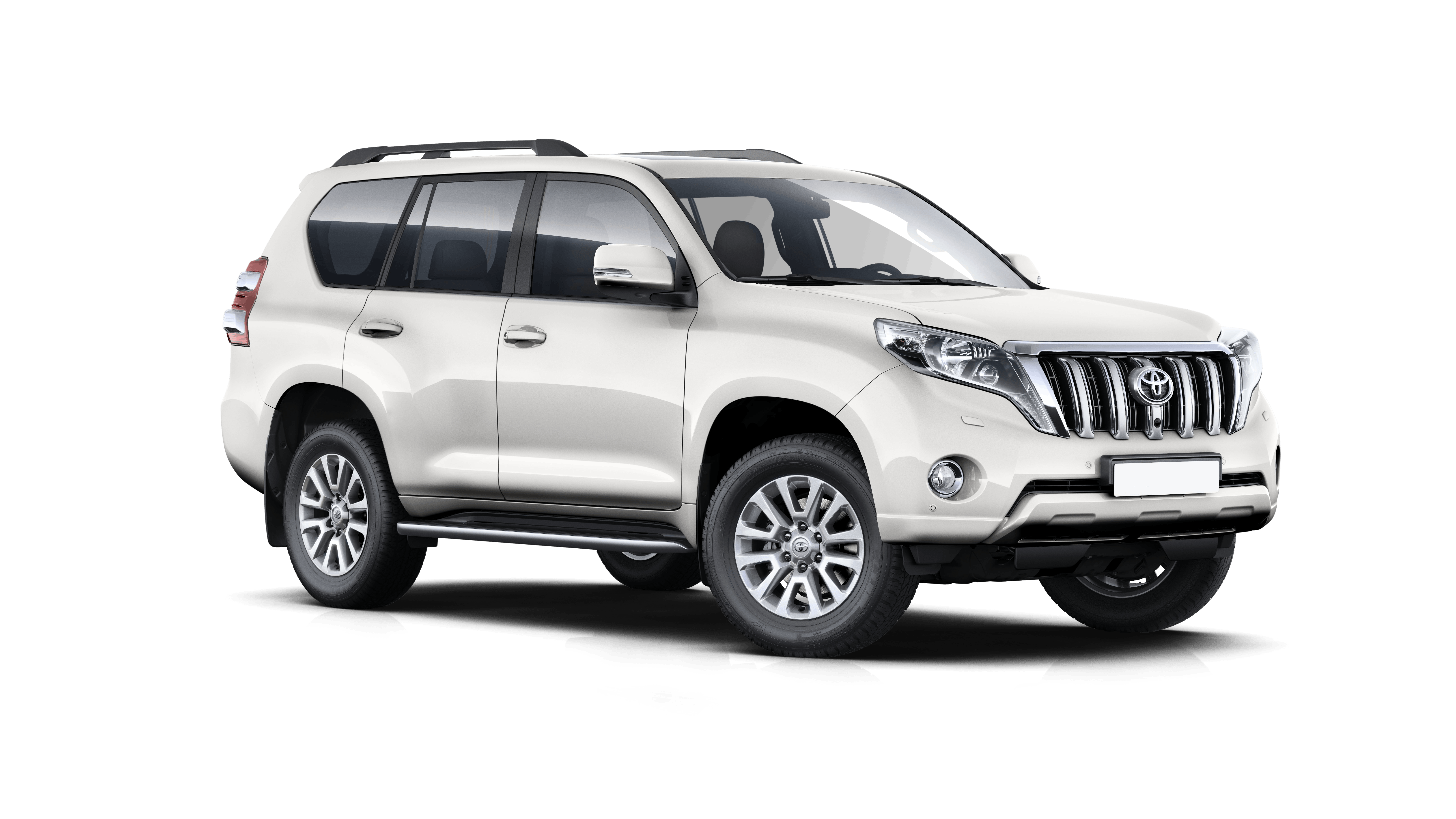 Toyota LandCruiser 150 4X4 Extra driver included - 2017