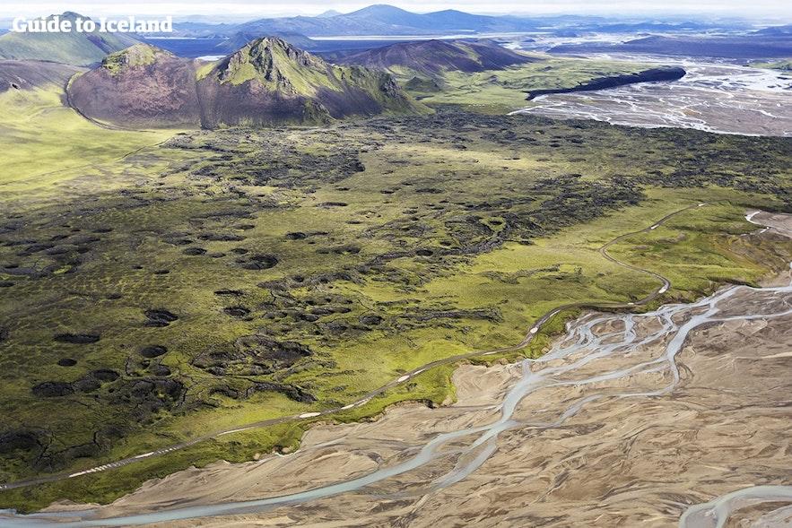 冰岛内陆高地没有常规住宿