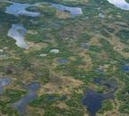 Der See Mývatn in Nordisland besteht aus mehreren Seen.