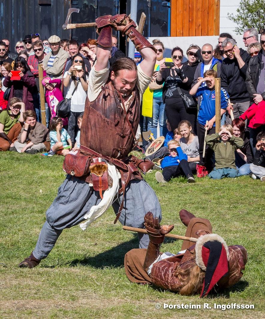 Vikings Descend Upon Hafnarfjörður - Viking Festival 2016