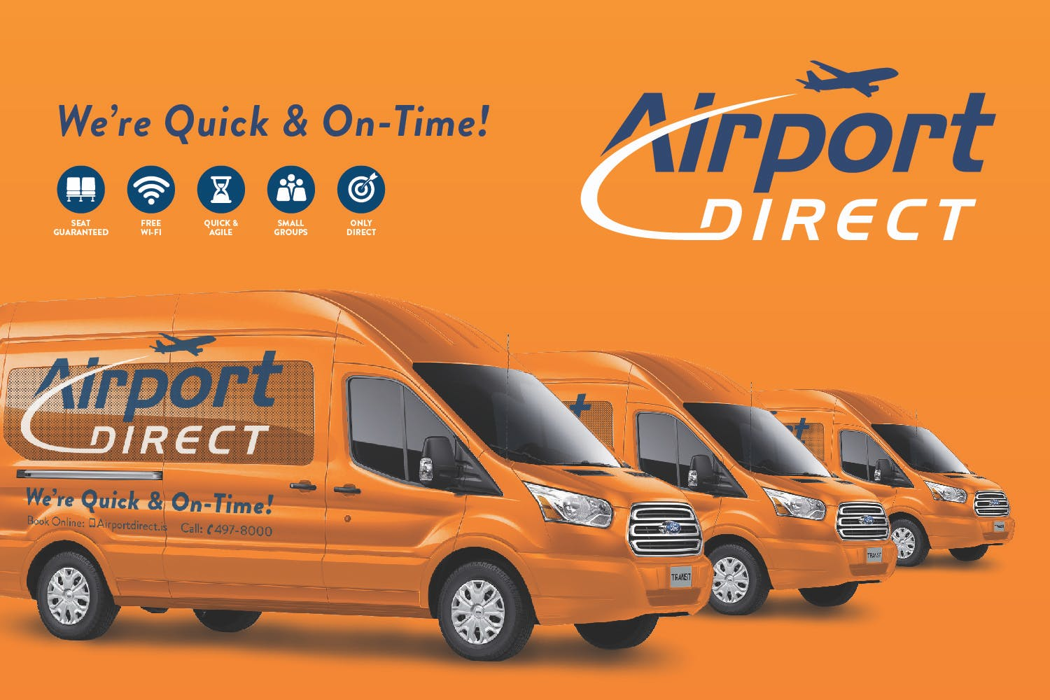 Direct Airport Transfer from Keflavik International to Your Accommodation