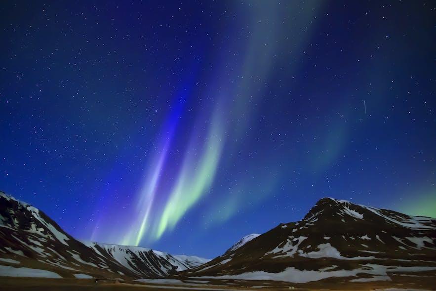 8月也有机会在冰岛看到北极光