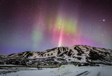 Northern Lights | Live Tour with Audio Guide in 10 Languages