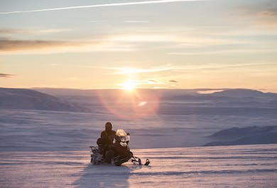Golden Circle Classic Tour with Snowmobiling | English Tour Guide & Audio Guide in 10 Languages