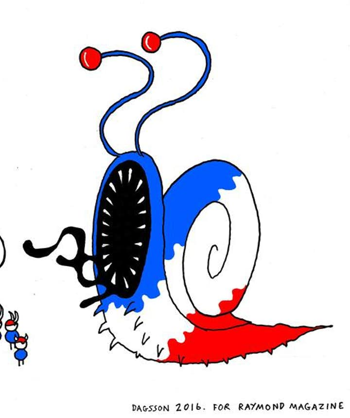 Icelandic Vikings beat the English lion and take on the French snail!