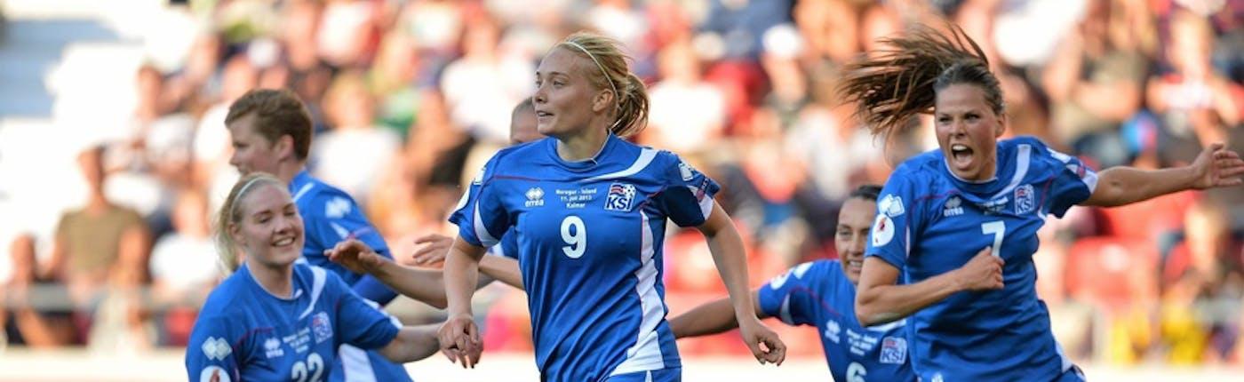 Icelandic female football team