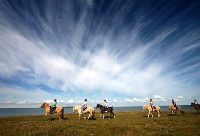 Passeggiata a cavallo e tour del Circolo d'Oro | Guida audio in italiano