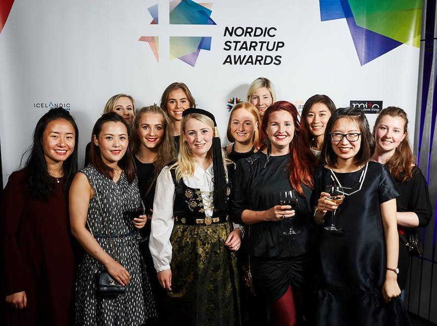 The talented, smart and awesome female team at Guide to Iceland!