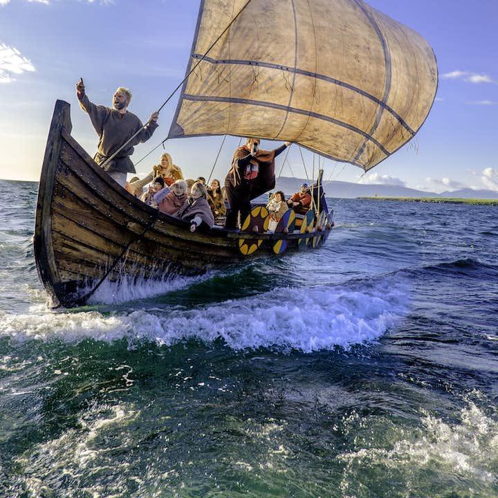 Sail like a Viking 1 Hour Adventure Tour in an Authentic Gaukstad Replica Ship