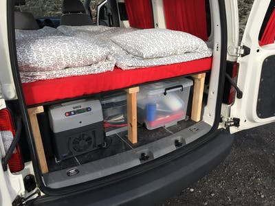 Volkswagen Caddy Camper w/heater