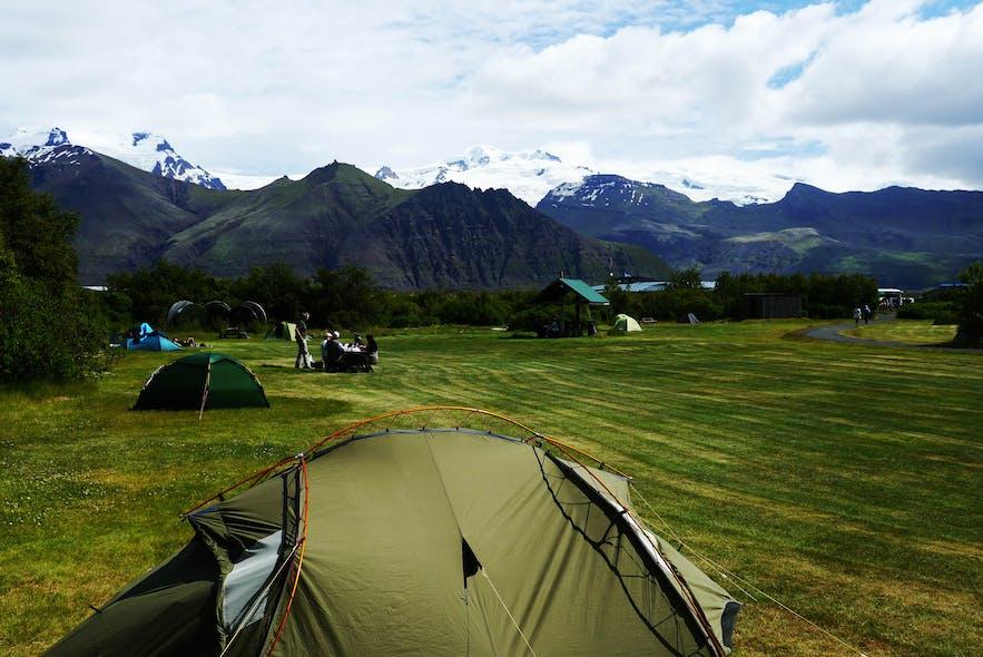 斯卡夫塔山营地