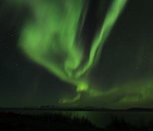 Tour de la aurora boreal en autobús