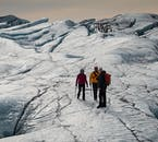 South Coast, Glacier Hike, Waterfalls & Black Sand Beach   Easy Difficulty