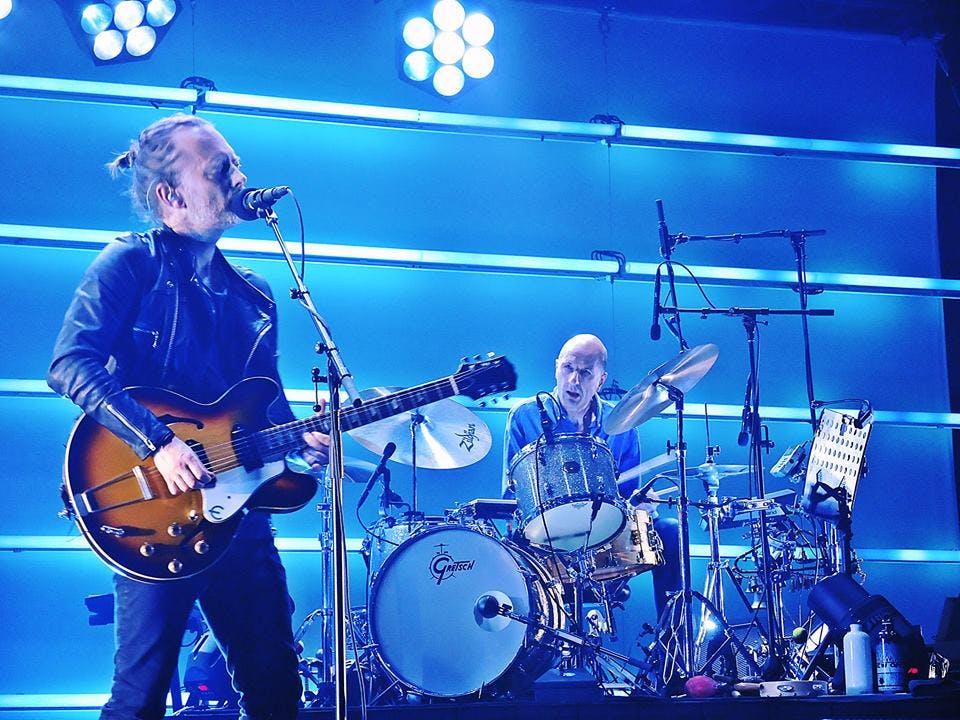 Radiohead performs at Secret Solstice in Iceland in June