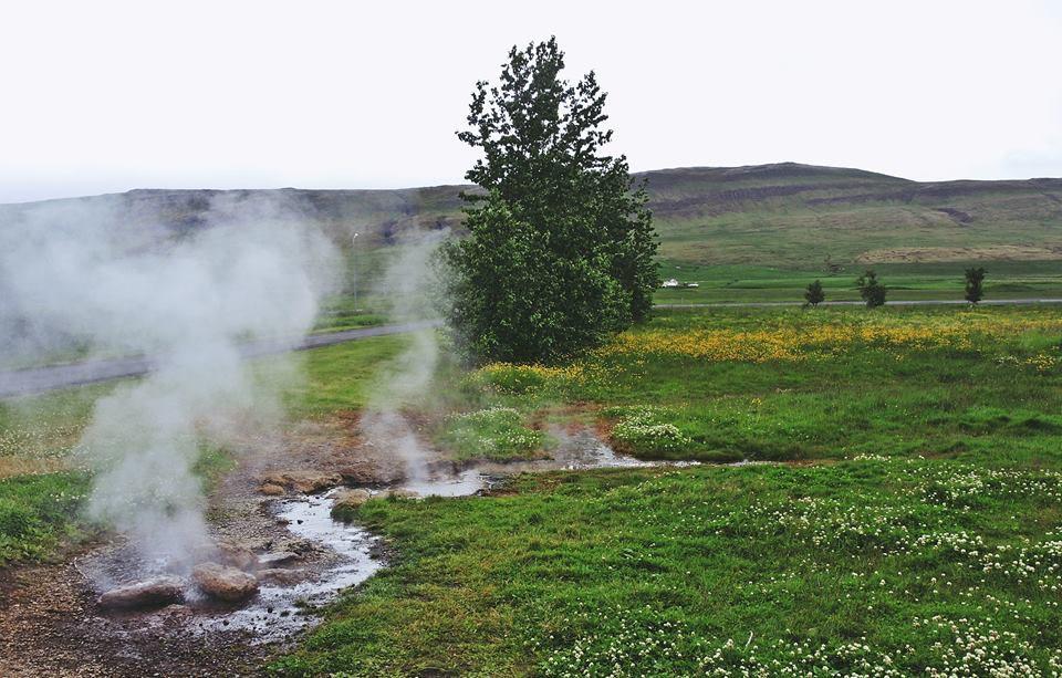 冰岛地热泉