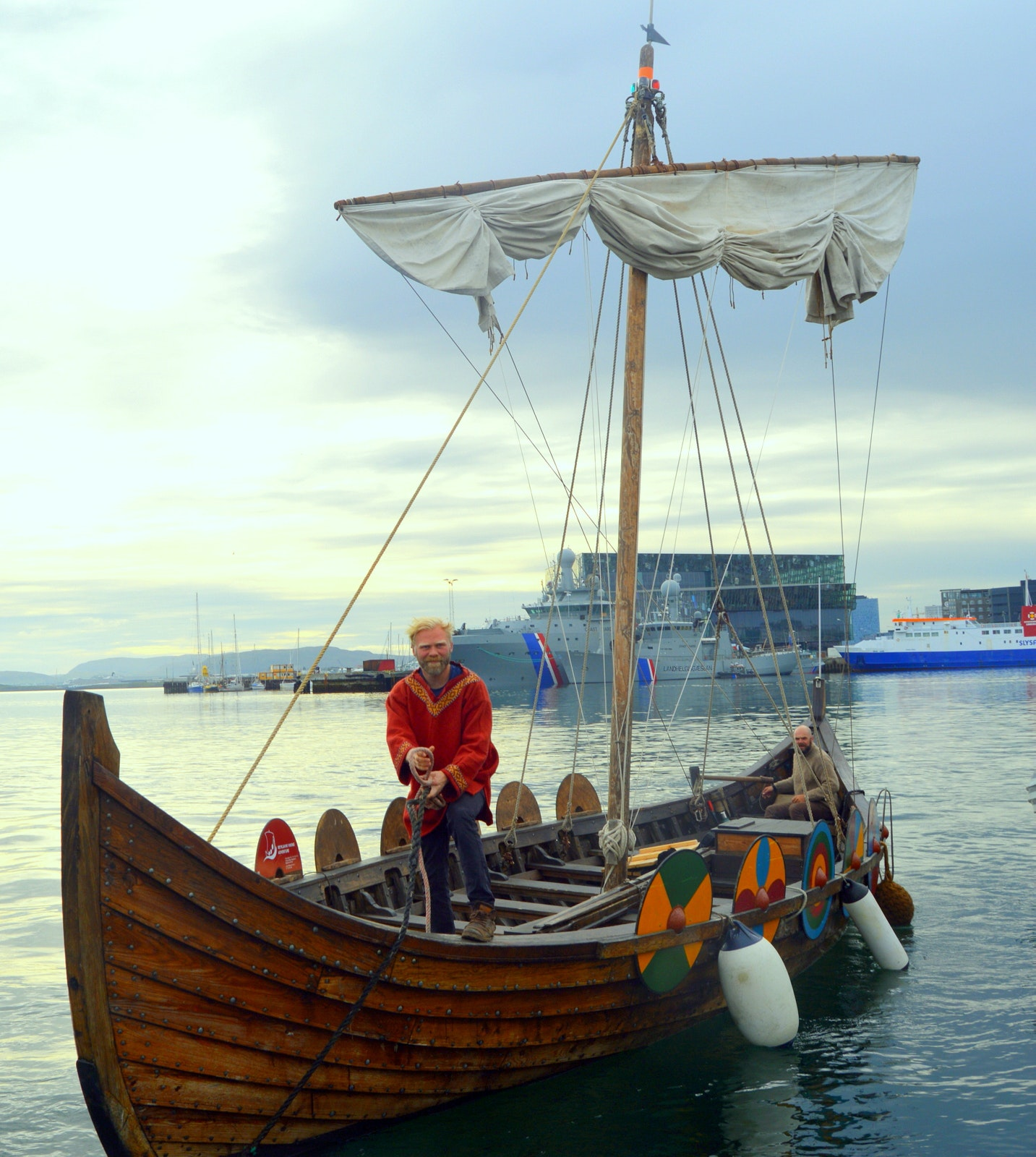 Sail like a Viking on a Viking Ship from Reykjavík's Old Harbour!