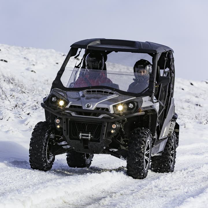 Whatever the terrain, be it snow, road or gravel, Buggies and ATVs can handle it!