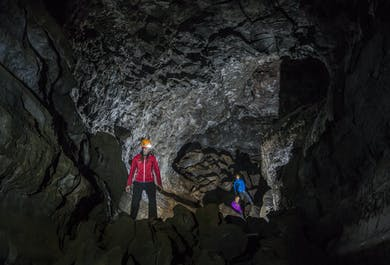 ATV & Underworld Lava Caving Trip from Reykjavík