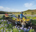 The quad bikes are perfect for taking you safely through Iceland's natural landscapes.