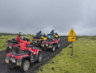 1 Full Day ATV Adventure from Reykjavík