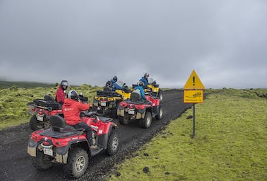 Volcano and Lava Experience ATV Adventure from Reykjavik
