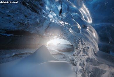 Tour de 3 días a la cueva de hielo en Jokulsarlon con Círculo Dorado, Senderismo en el glaciar & Auroras boreales