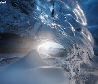 冬季バスツアー3日間|氷の洞窟、氷河ハイキング、ゴールデンサークル