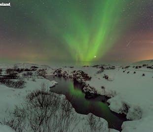 Tour de 4 días en invierno | Auroras boreales, Círculo Dorado, Costa Sur y Laguna Azul