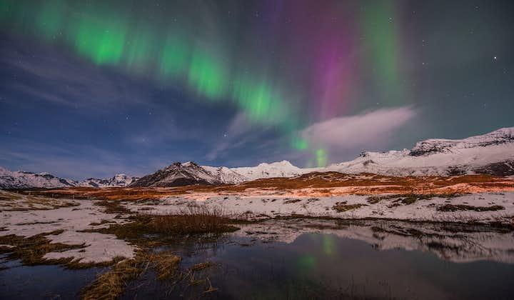 4-dniowy pakiet zimowych wakacji z zorzą polarną: Złoty Krąg, południowe wybrzeże i Błękitna Laguna