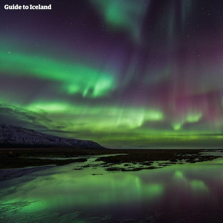 7-dagars vintersemester En resa till norrsken och isgrottor