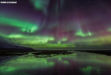 7-дневные зимние каникулы   Путешествие к ледниковым пещерам и северное сияние