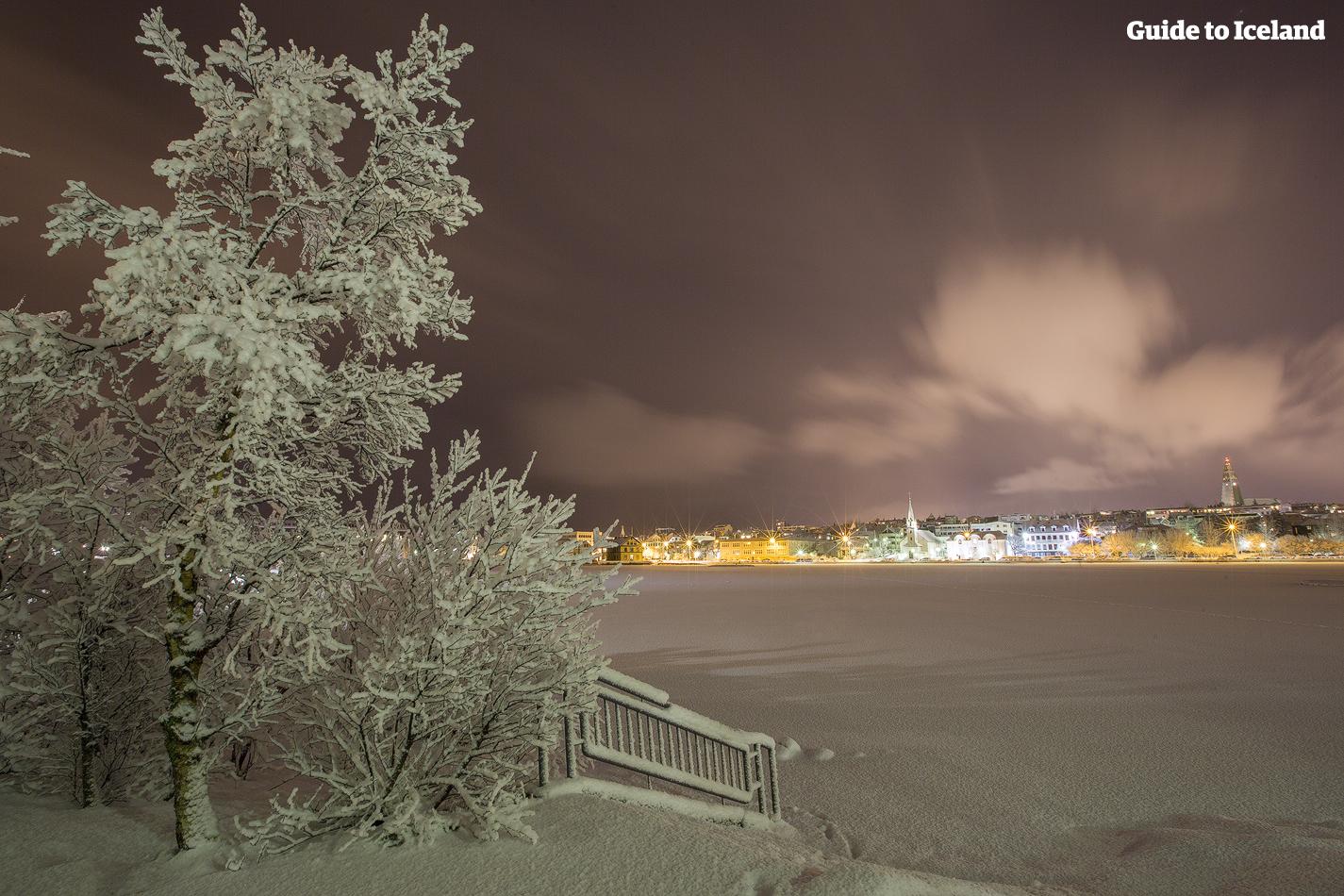 冬季的雷克雅未克就像是一个冬日乐园