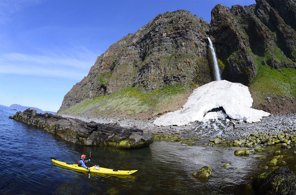 Lónafjorður is the most beautiful fjord in Hornstrandir, and maybe all of the Westfjords, and best seen by kayak.
