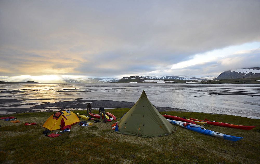 Camping in Hornstrandir in the Westfjords will connect you with the incredible landscapes more than any other experience.