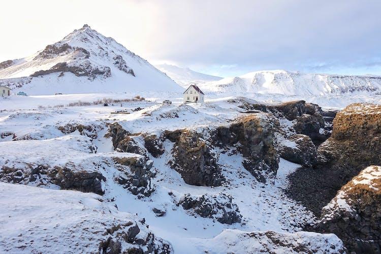 La bellissima penisola di Snæfellsnes viene definita