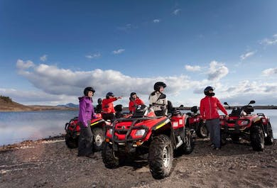 Whale Watching & ATV Tour from Reykjavik