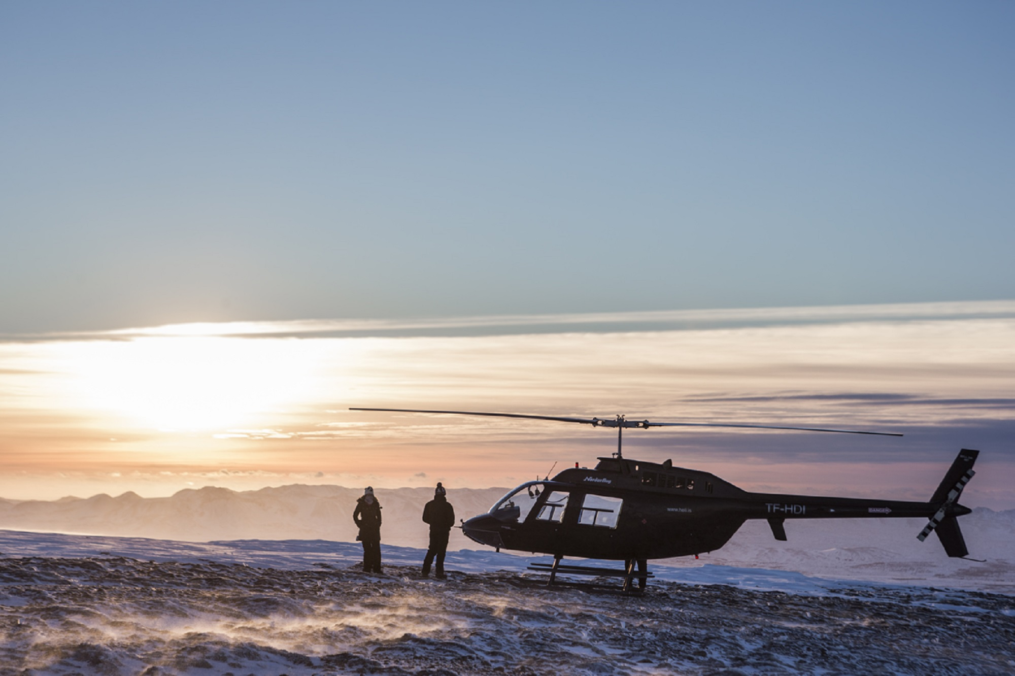 A helicopter tour is one of the most awe-inspiring activities available in Iceland.