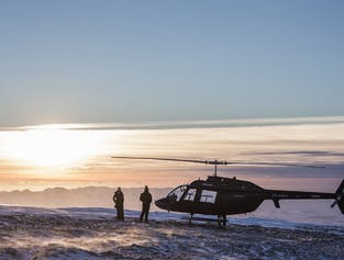 Whale Watching & Helicopter Flight | Combo Tour