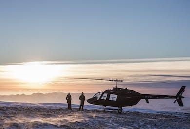 Rejs na wieloryby i lot helikopterem   Wycieczka połączona