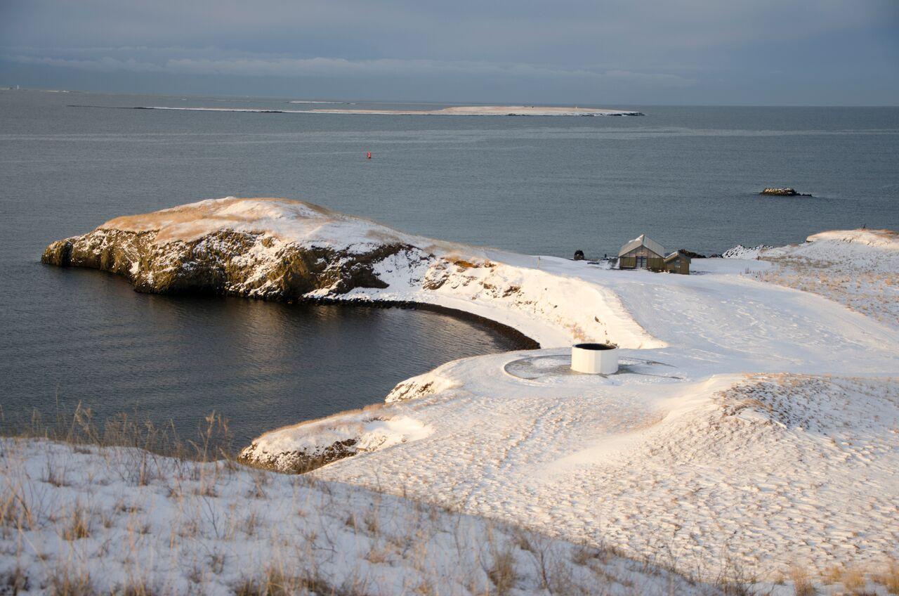 Viðey is an island in Kollafjörður Bay.