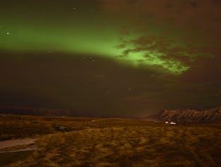 Northern Lights on Viðey Island