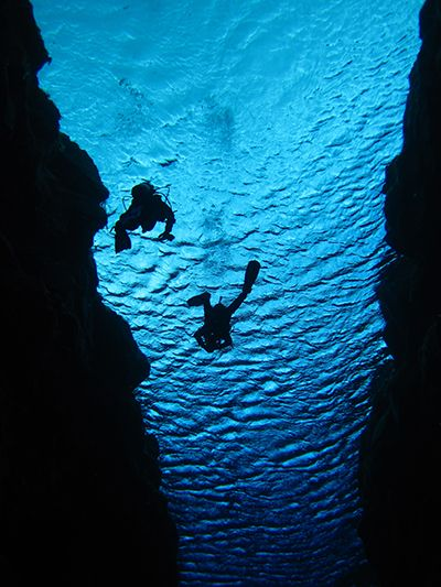 Sifra Fissure is considered to be one of the world's top ten dive sites.