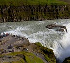 There are a couple of observation points at Gullfoss, perfect for aspiring photographers looking for that unique shot.