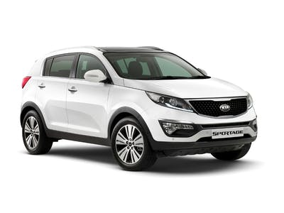 Kia Sportage Manual 4x4 with GPS 2015
