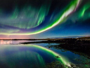 Northern Lights with a local guide